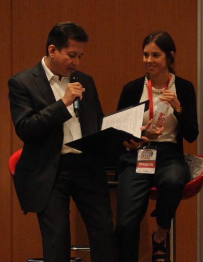 Eddie Razak with Joana Cruz Ferreira Social Investment Lab Portugal – Oct 2015