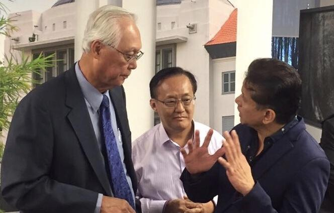 Emeritus Senior Minister and former Prime Minister of Singapore Goh Chok Tong